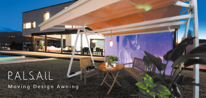 PALSAIL-Moving Design Awning-