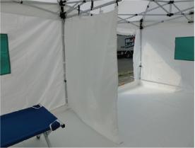 ミスタークイック災害時多目的用テント詳細1